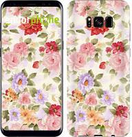 """Чохол на Samsung Galaxy S9 Квіткові шпалери """"820c-1355-535"""""""