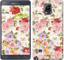 "Чехол на Samsung Galaxy A8 Plus 2018 A730F Цветочные обои ""820u-1345-535"""