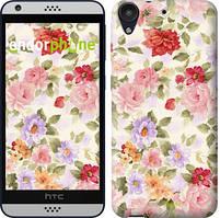 """Чохол на HTC Desire 530 Квіткові шпалери """"820c-613-535"""""""
