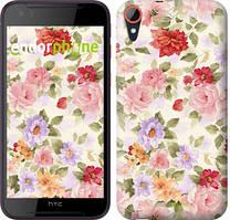 """Чехол на HTC Desire 830 Цветочные обои """"820c-785-535"""""""