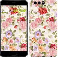 """Чохол на Huawei P10 Plus Квіткові шпалери """"820u-963-535"""""""