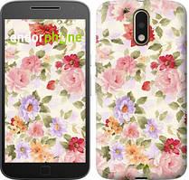 """Чохол на Motorola MOTO G4 PLUS Квіткові шпалери """"820c-953-535"""""""