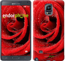 "Чехол на Samsung Galaxy A8 Plus 2018 A730F Красная роза ""529u-1345-535"""