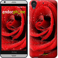 """Чехол на HTC Desire 530 Красная роза """"529c-613-535"""""""
