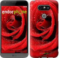 """Чехол на LG G5 H860 Красная роза """"529c-348-535"""""""