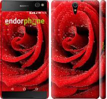 """Чехол на Sony Xperia C5 Ultra Dual E5533 Красная роза """"529c-506-535"""""""