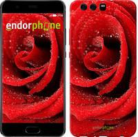 "Чохол на Huawei P10 Plus Червона троянда ""529u-963-535"""
