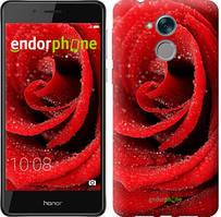 """Чехол на Huawei Honor 6C Красная роза """"529u-1034-535"""""""