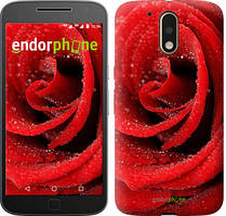 "Чохол на Motorola MOTO G4 PLUS Червона троянда ""529c-953-535"""