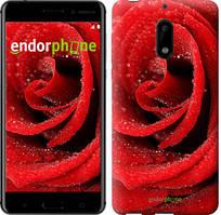 "Чехол на Nokia 6 Красная роза ""529c-898-535"""