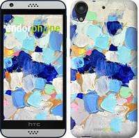 """Чехол на HTC Desire 630 Холст с красками """"2746c-454-535"""""""