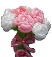 """Букет цветов из воздушных шаров """"Розы"""""""