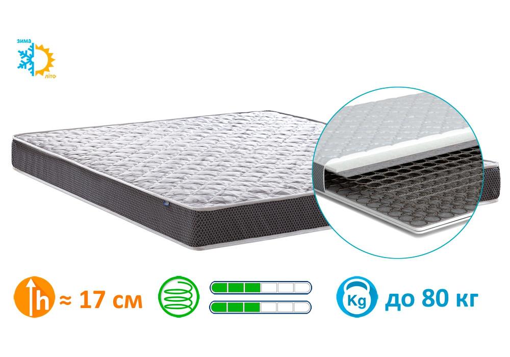 Матрац ортопедичний Matroluxe Рол Спрінг-3 120x200 см (4408)