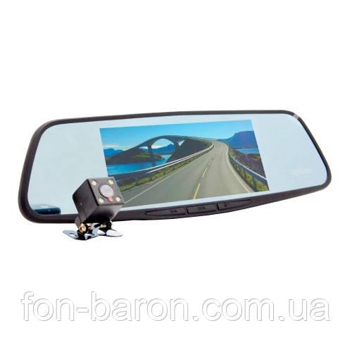 Видеорегистратор-зеркало Eplutus D30 с 2-мя камерами на базе Android с GPS и Wi-Fi (7 дюймов), фото 1
