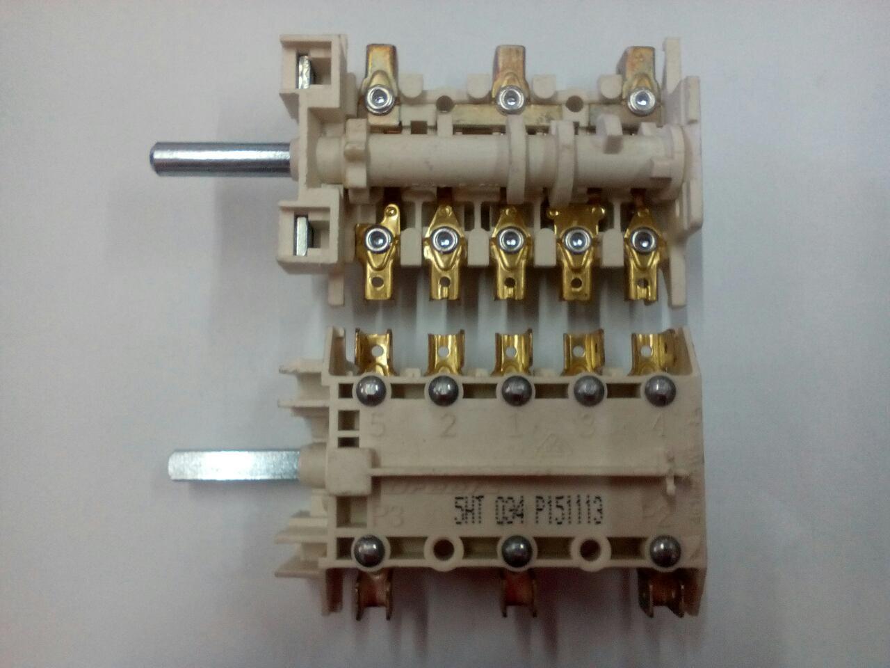 Переключатель для электроплиты Ardo и Норд 5НТ 034