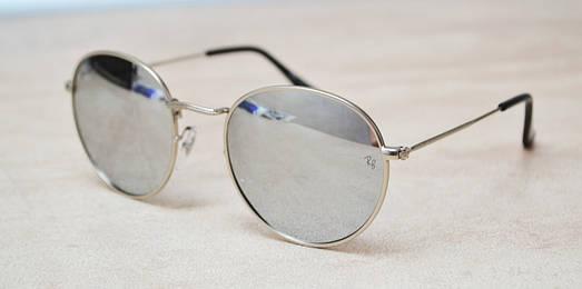 Солнцезащитные очки Ray Ban Round 3448 019/30 поляризационные