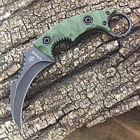 Нож керамбит Strider (Реплика) black stonewash