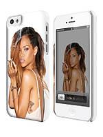 Чехол для iPhone 5C Rihanna