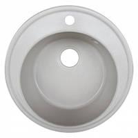 Кухонная мойка гранитная Platinum 510 Белый