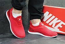 Летние мужские кроссовки Nike,красные,сетка, фото 2