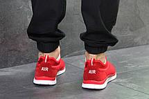 Летние мужские кроссовки Nike,красные,сетка, фото 3