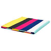 IKEA SOMMAR2018 Пляжное полотенце, разноцветное, темное  (003.773.33)
