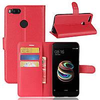 Чехол IETP для Xiaomi mi A1 / mi 5x книжка кожа PU красный, фото 1