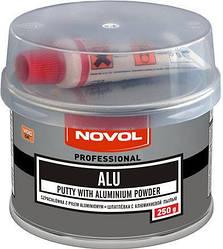 Шпатлевка с алюминиевым порошком Novol ALU  0,25 кг