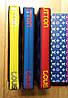 Кошелек Louis Vuitton Люкс синий с цветной силиконовой молнией, фото 5