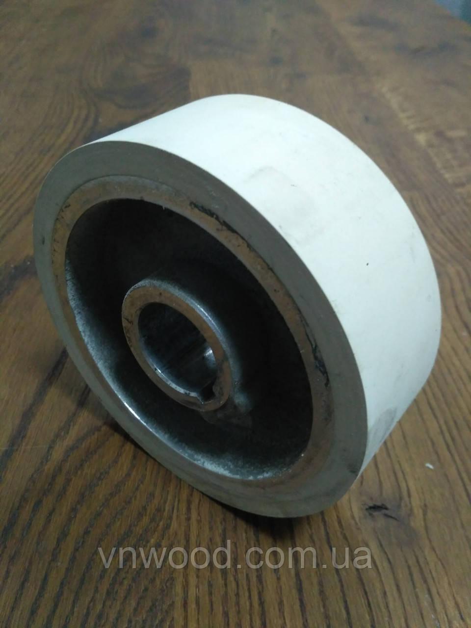Подаючий ролик чотирьохстороннього станка Φ140XΦ35x50 (гума)