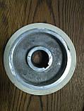 Подаючий ролик чотирьохстороннього станка Φ140XΦ35x50 (гума), фото 2