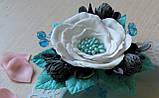 Фоамиран мятный, 60x70 см, 0,8-1,2мм., Иран, фото 2