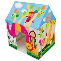 Детская палатка игровая домик Джунгли Intex 45642
