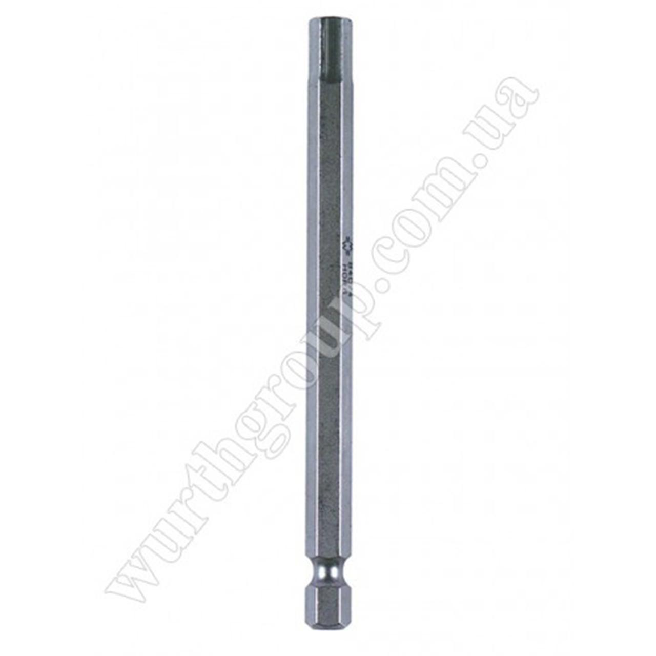 Бита удлиненная ТХ25 1/4 L 150 мм Wurth