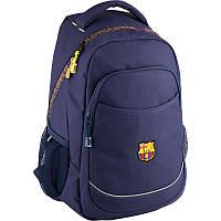 Рюкзак Kite BC18-820L FC Barcelona школьный детский для мальчиков один отдел 31x15,5x44см