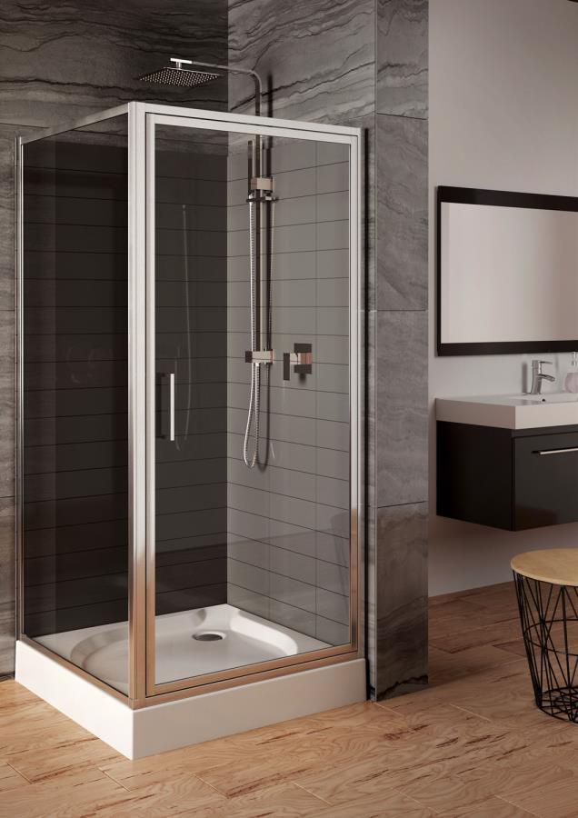 Aquaform MONZA: Распашная дверь для монтажа в нише или со стенкой