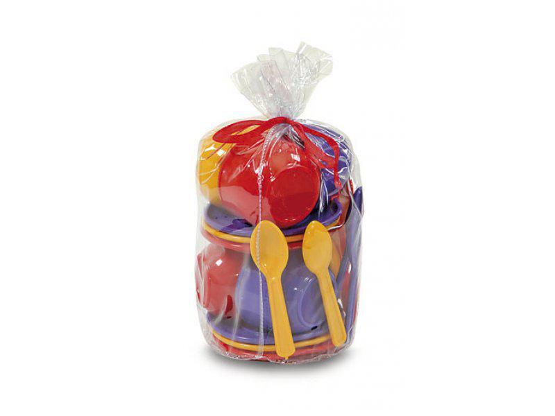 Набір іграшкового посуду (18 предметів) 0163 Юніка