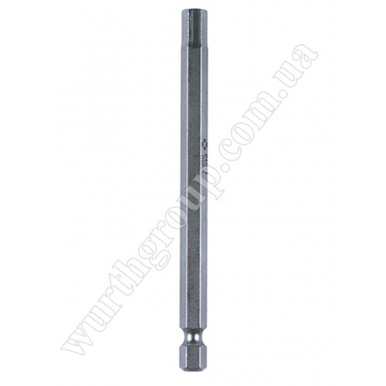 Бита шестигранник L 100 мм SW6 1/4 Wurth