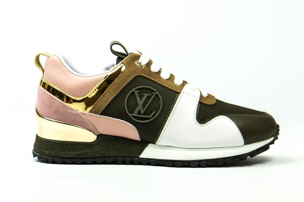 34a1a5efdbeb Женские кроссовки Louis Vuitton (в стиле Луи Витон Люкс) разноцветные -  Мультибрендовый магазин обуви