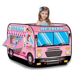 Детская палатка игровая домик Bambi M 3716 Машина-мороженое