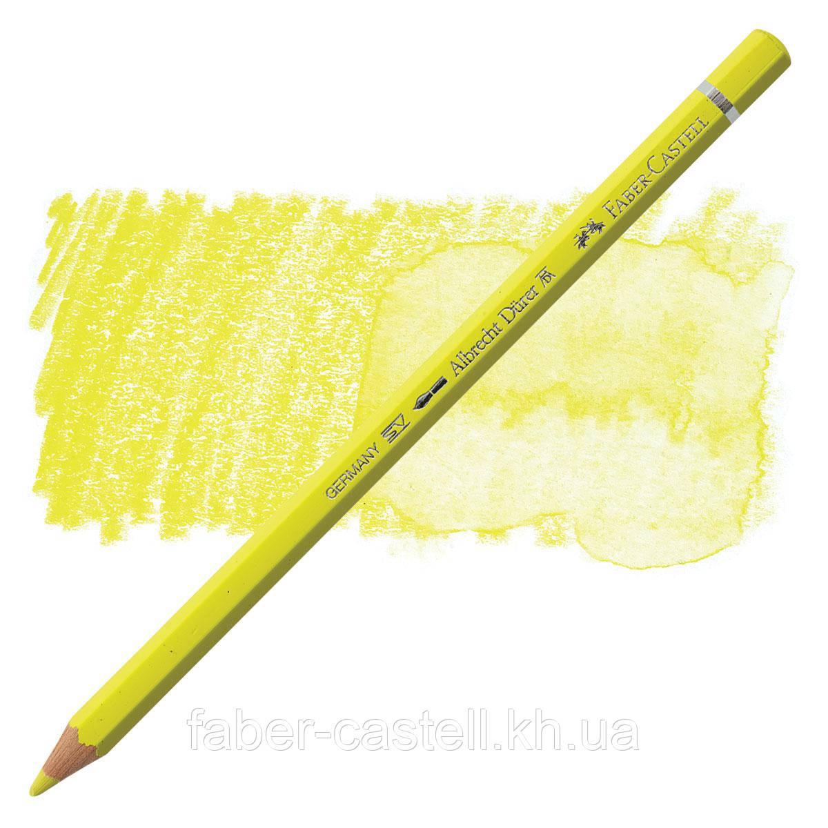 Карандаш акварельный цветной Faber-Castell Albrecht Dürer лимонный  (Light Yellow Glaze)  № 104, 117604