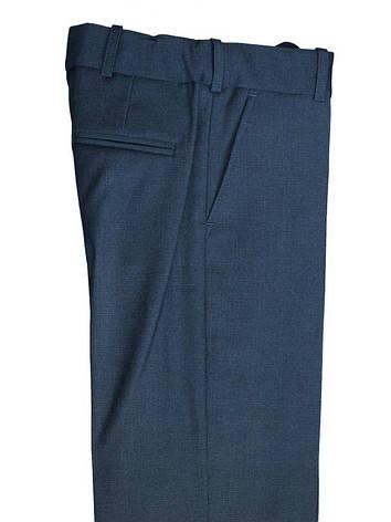 """Школьные брюки для мальчика """"Магистр""""  серо-синие , фото 2"""