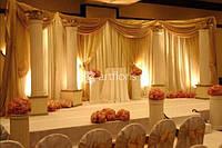 Оформление свадеб, украшение залов, свадебное оформление церкви, ресторана, яхты