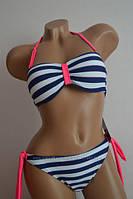Купальник женский FUBA морском стиле. Размеры 38-46., фото 1