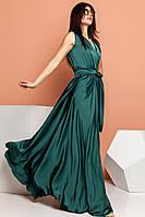 Платье Фурор изумруд