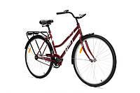 Велосипед Аист Aist 28-240 Бордовый городской/доржный, фото 1
