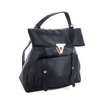 Рюкзак женский David Polo черный, купить оптом со склада