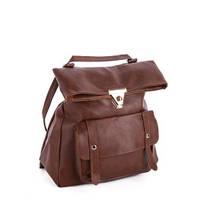 Рюкзак женский David Polo коричневый, купить оптом со склада