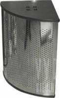 Корзина для мусора c крышкой угловая Arino 56х56х35,5