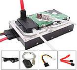 !РАСПРОДАЖА Адаптер переходник 305 USB SATA IDE HDD DVD +бп, фото 4